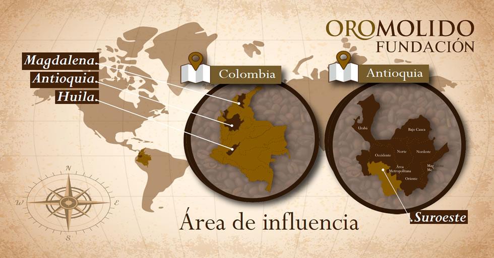nosotros fundacion oromolido antioquia fredonia colombia
